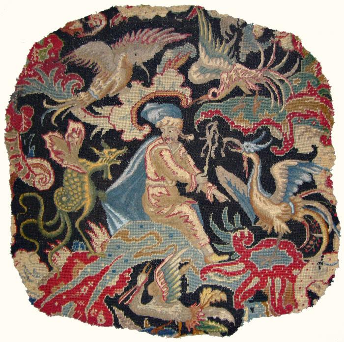 La tapisserie du siège Louis XV après restauration par Bobin Tradition