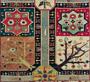 Conservation d'un fragment de tapis jardin. Kurdistan (Musée du Louvre)