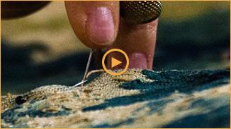 Présentation en vidéo de Bobin Tradition : Nettoyage, conservation, restauration de tapis, tapisseries et textiles délicats