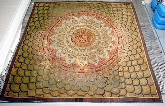restauration conservation de tapis anciens ou contemporains. Black Bedroom Furniture Sets. Home Design Ideas