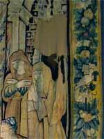 Restauration conservation de tapisserie d'Aubusson