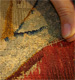 Restauration conservation de tapisserie